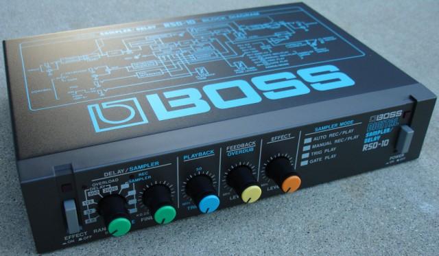 Boss RSD10 sampler/delay