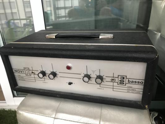 Cabezal amplificador Novik 300 Basso