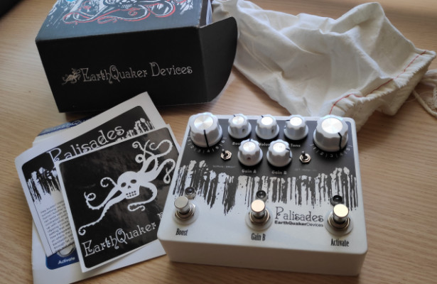 Palisades,  EarthQuaker Devices Dual Overdrive (sin Usar)