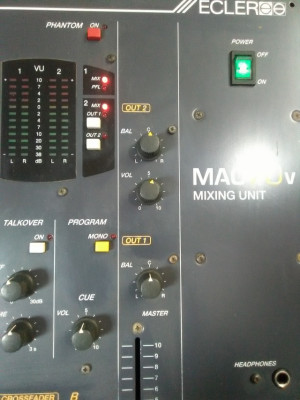 ECLER MAC 70 V MIXING UNIT