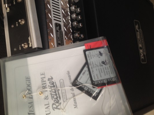 Mesa Boogie triple rectifier + 4x12; nuevos cambios