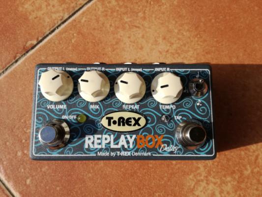 Delay T-rex replay box+ alimentador y envio