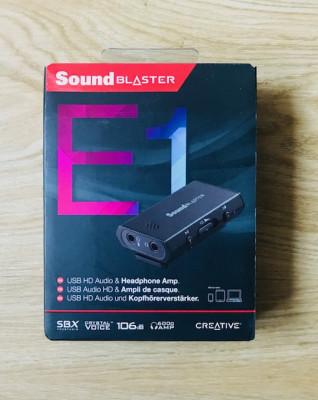Tarjeta de sonido externa Sound Blaster