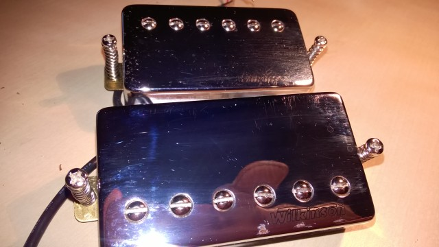pastillas humbucker wilkinson