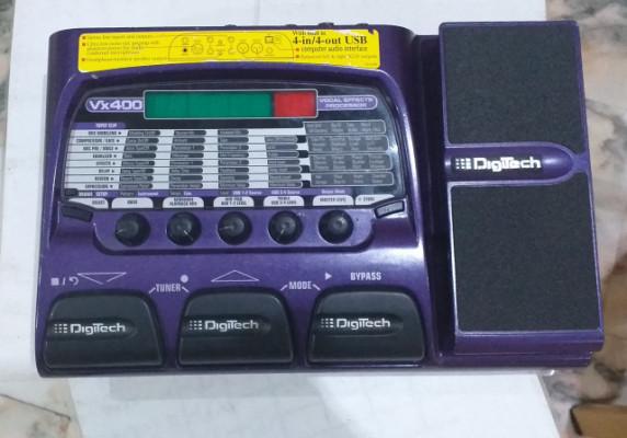 Digitech VX 400 Procesador de Efectos Vocal
