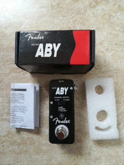 Fender ABY y HB Noise gate