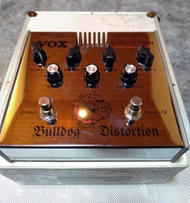 Vox Bulldog Distortion + Mooer Shim Verb
