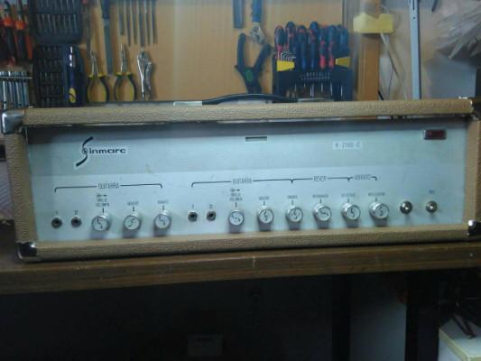 Sinmarc R-2160-C restaurado.