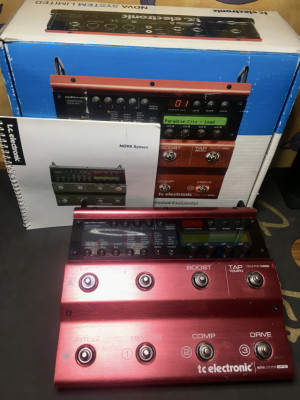 Tc Electronic Nova SYStem Limited Edition Red