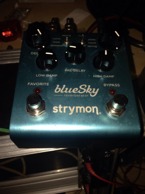 Reverb strymon bluesky