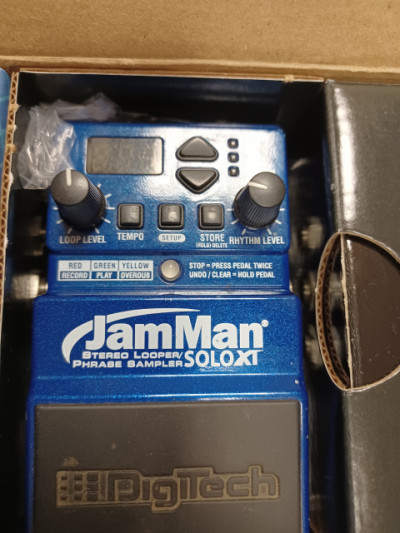 RESERVADO JamMan solo XT Stereo Looper con caja