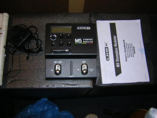 Line 6 M5 procesador de efectos