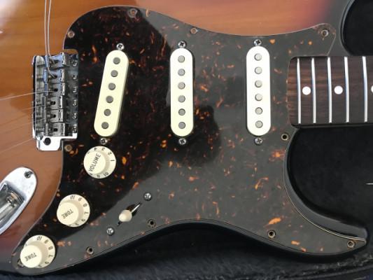 Golpeador completo Stratocaster.Cambio parcial por ampli