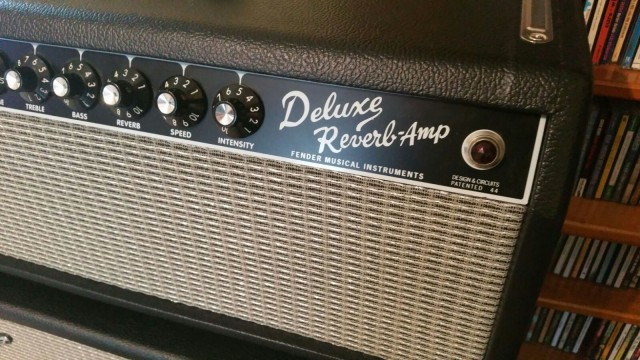 Fender Deluxe Reverb Cabezal serie limitada