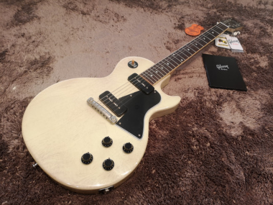Gibson Les paul Special 1960 Vos TV White