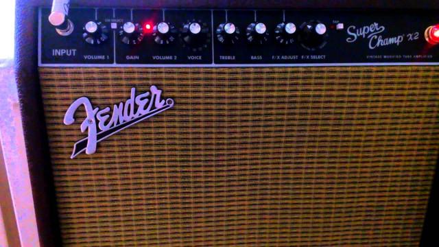 Amplificador Fender Super Champ X2 - En garantía - Envío Incluido