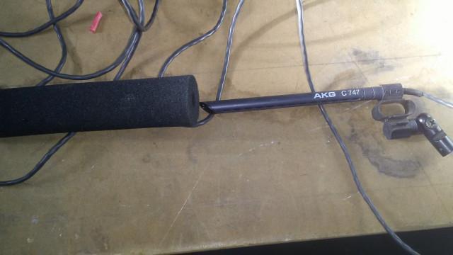 Microfono  AKG C747