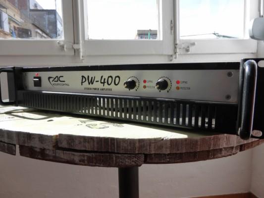 AC PW-400 Etapa de potencia