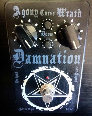 DISTORSION Damnation DM-MG1692 [ ed.limitada. num. 295 / 1692 ]