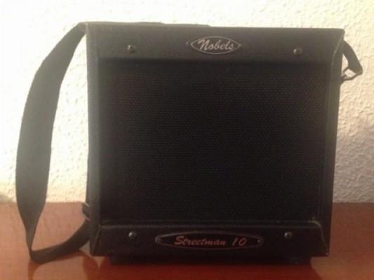 nobels streetman 10 amplificador portatil