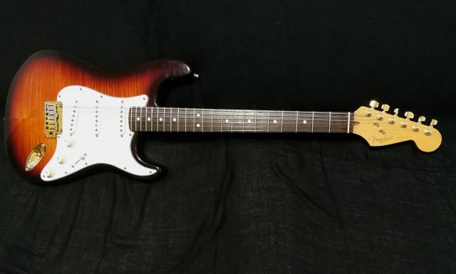 REBAJON! Fender Stratocaster 50th Anniversary Flamed Maple LtdEd 1996