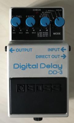 Boss DD-3 JAPAN LONG CHIP Digital Delay ENVÍO INCLUIDO