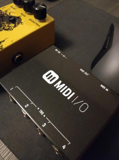 Meris 4-preset switch y Midi I/O