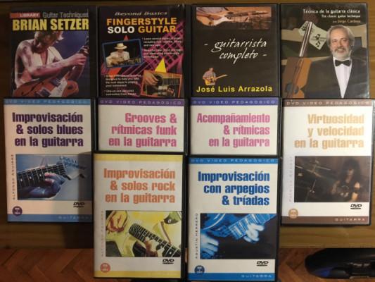 10 DVD's didacticos en español