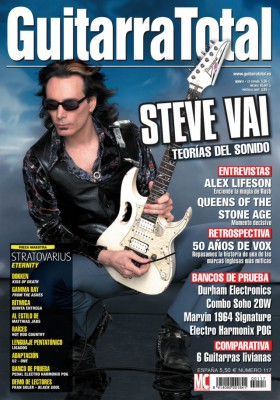 Colección de unos 350 números de Guitarra total y guitarrista