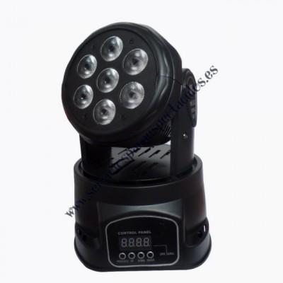 Cabezas móviles LED WASH 7X12W RGBW