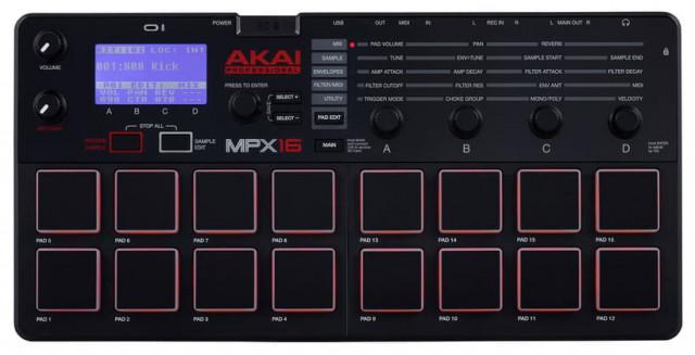 Sampler Akai mpx16  por falta de uso + micro SD 32 GB