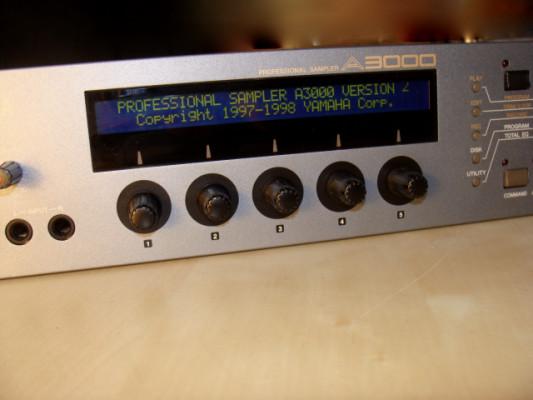 Sampler Yamaha A3000 v2 con salidas separadas