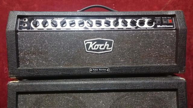 "Koch Multitone todo válvulas, 100w cabezal+pantalla 4x12"""