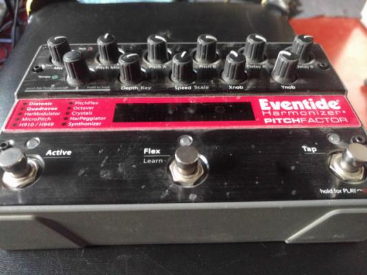 Eventide Pitchfactor pedal de guitarra