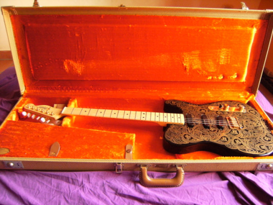Fender Telecaster James Burton Gold Paisley