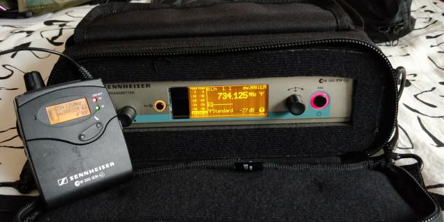 IN EAR MONITOR Sennheiser EW 300 IEM G3 / C-Band