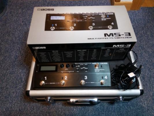 Boss MS-3 pedalera looper