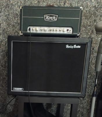 Koch jupiter 45 cabezal+pantalla Harley Benton 2x12 Vintage 30