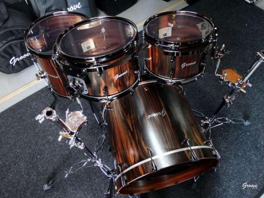 """Cajas ex-demo y Baterías tope de Gama """"Groove Drum Co"""""""