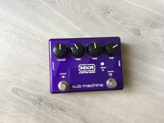 Mxr submachine fuzz
