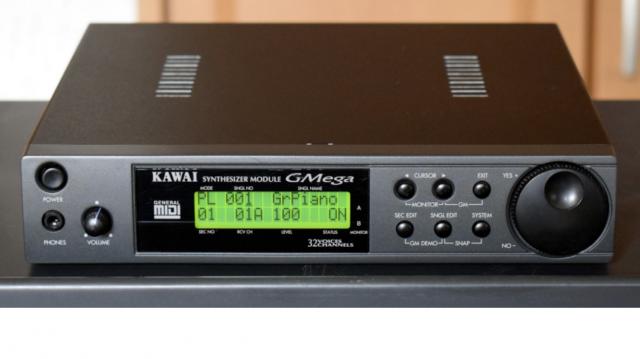 Módulo de sonidos Kawai Gmega