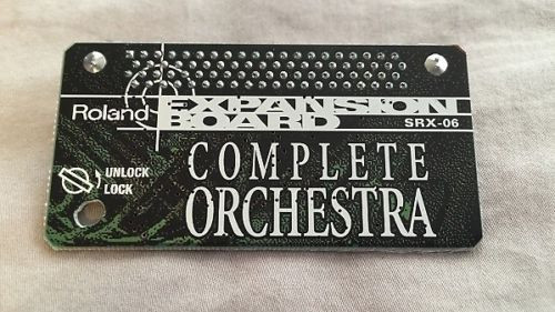 Tarjeta de sonidos Roland SRX-06 (Complete Orchestra)