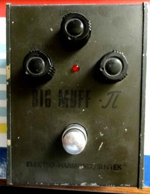 Busco Electro Harmonix Big muff Pi Sovtek