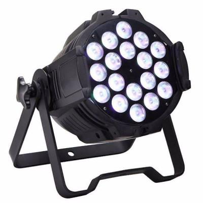 FOCO PAR LED RGBW 18 x 12Watios