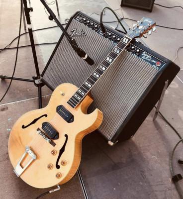 Fender Twin Reverb (1990 USA) por Deluxe Reverb
