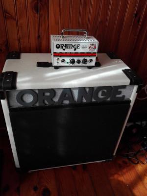 Orange micro terror 20w. + bafle