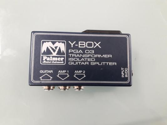 Splitter Palmer Y-BOX PGA 03 (Para tocar con 2 amplis a la vez)