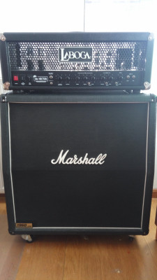 "Laboga Mr. Hector ""Duo Master"" MKII + 4x12 Marshall 1960A"