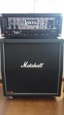 "Laboga Mr. Hector ""Duo Master"" MKII + 4x12 Marshall 1960A"
