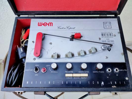 Watkins Copicat Custom Guild Edition - Tube Tape echo - 60's Rare - VIDEO